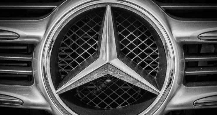 mercedes znak logotip
